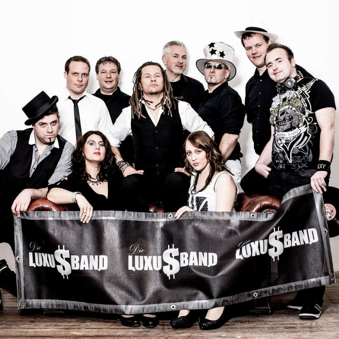 Die Luxusband - Bandfoto
