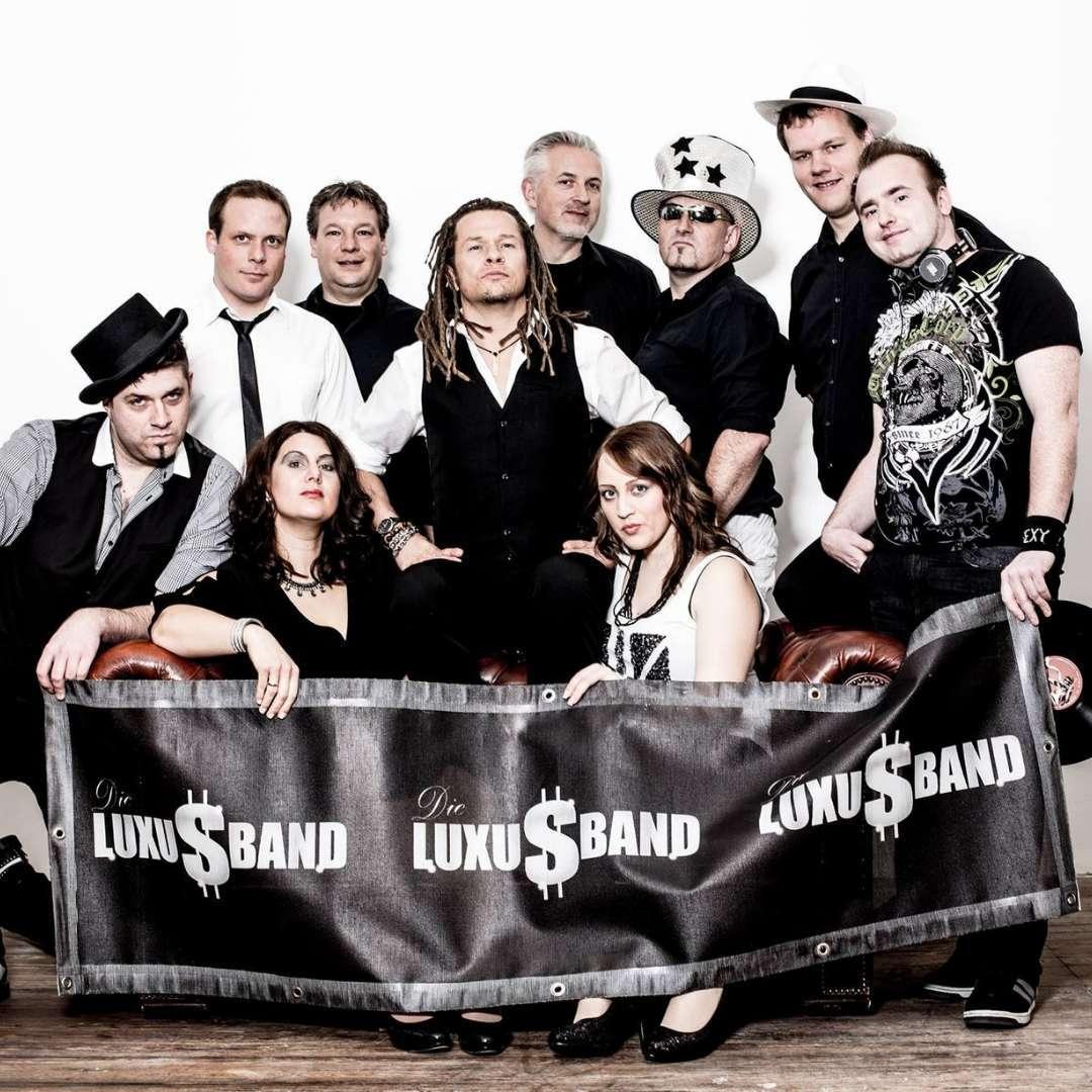 Die Luxusband - Bandfoto