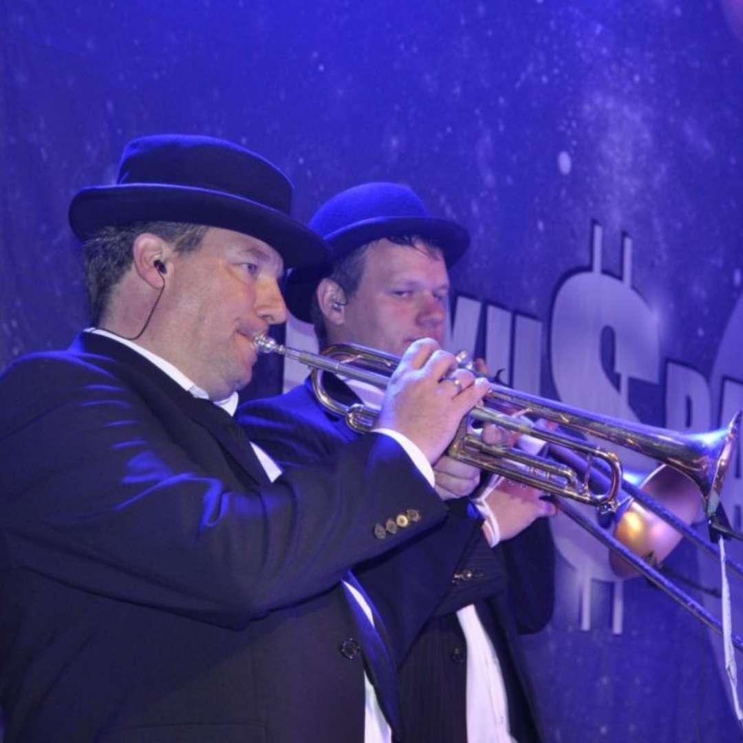 Posaune und Trompete, unsere Bläser - Luxusband
