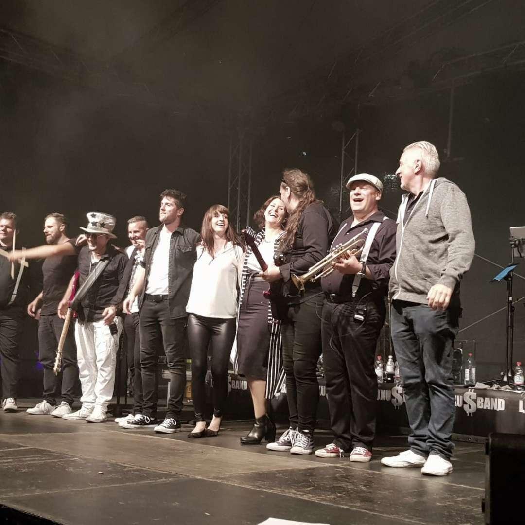 Stadtfest Nürtingen - Die Luxusband 2019